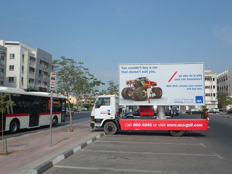 Mobile Billboards Advertising in Dubai