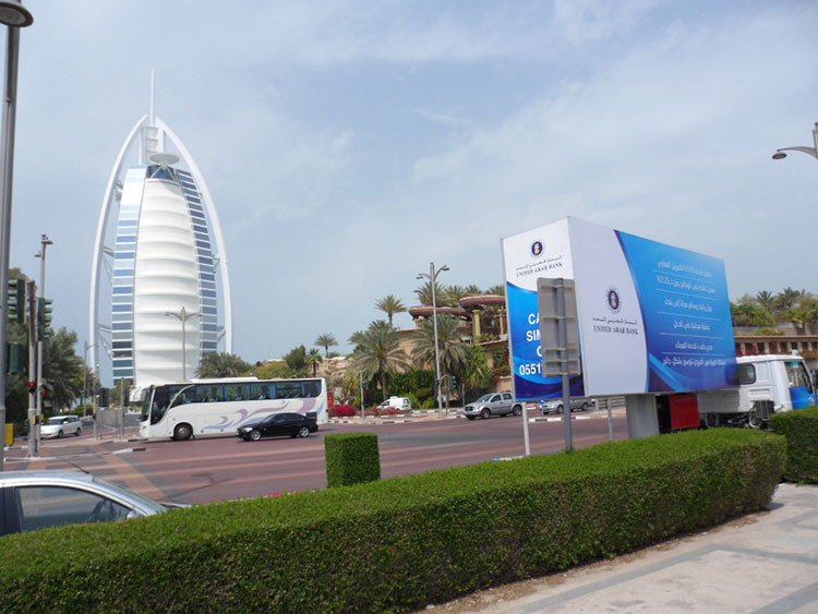 Mobile Billboard Advertising company in Dubai