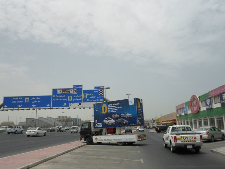 Mobile Billboard Advertising Company Dubai UAE