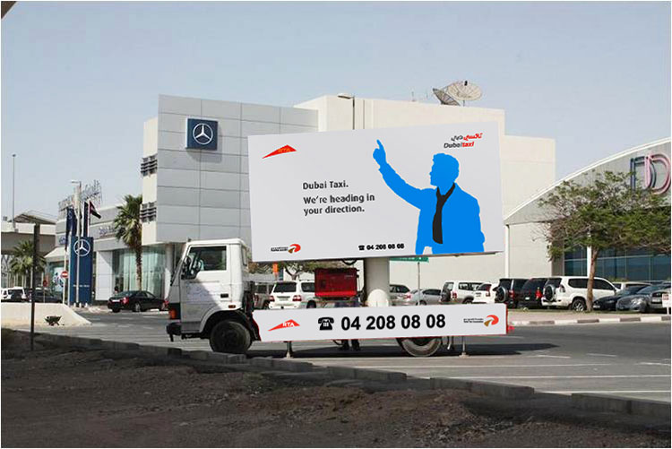 Mobile Billboards company in Dubai UAE